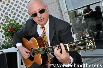 Richard Stein, of Carle Place MS/HS and of ClearSteer Music, played the music at the wedding ceremony.