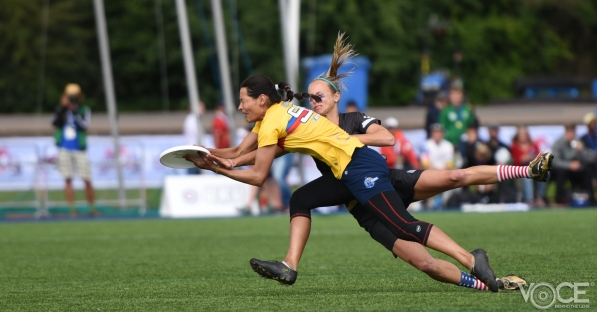 Women's Finals Colombia and USA